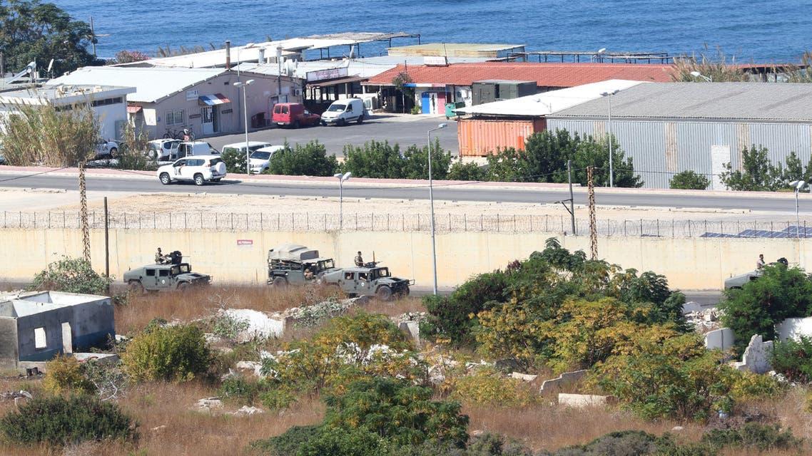 مقر اجتماع الوفد المفاوض في ترسيم الحدود بين لبنان وإسرائيل (أرشيفية- فرانس برس)