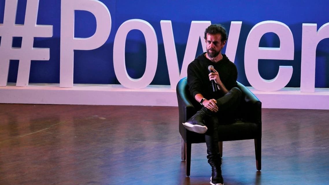 Twitter CEO Jack Dorsey addresses students during a town hall at the Indian Institute of Technology (IIT) in New Delhi, India, November 12, 2018. (Reuters)