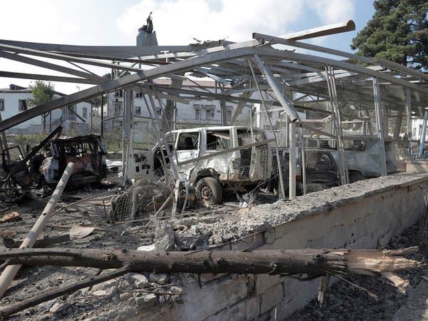 واشنطن وباريس تشددان على ضرورة وقف النار في كاراباخ