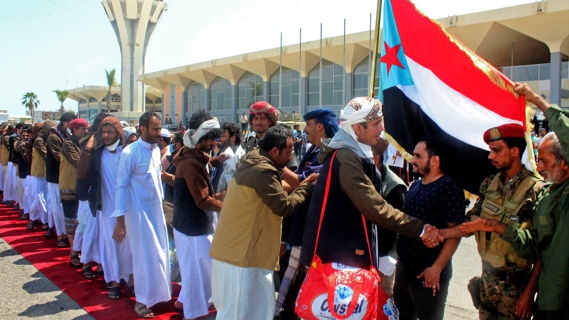 من مطار عدن (16 أكتوبر 2020- فرانس برس)