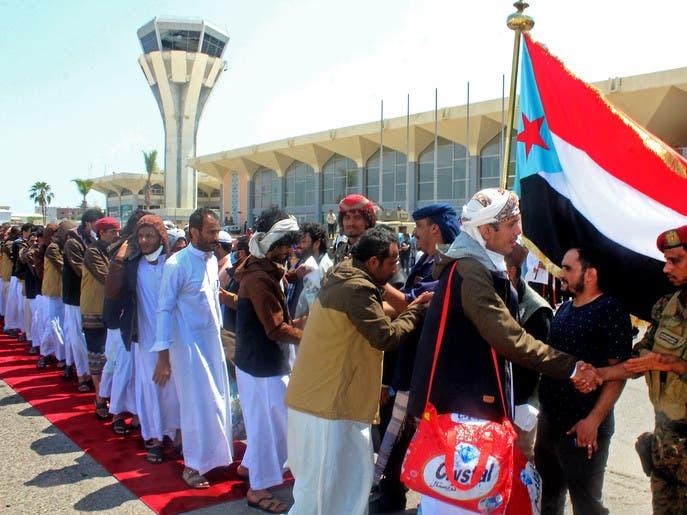 انتهاء أكبر عملية لتبادل الأسرى في اليمن.. إطلاق 1956
