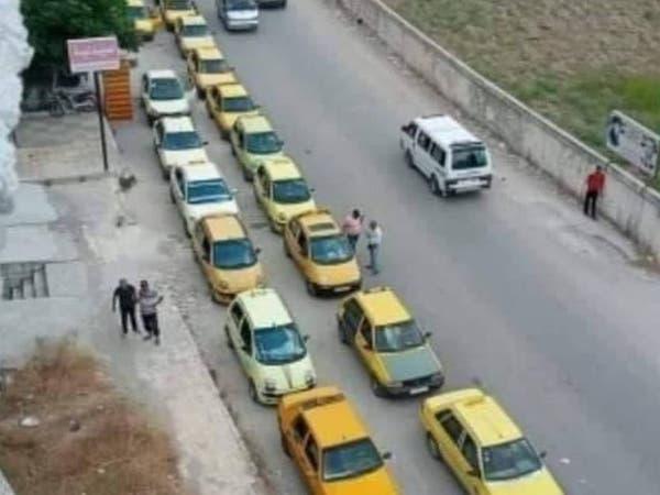 """عاجز ويقدم وعوداً.. طوابير""""البنزين"""" في سوريا تهدد الخبز"""