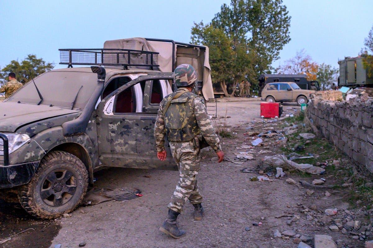 جندي أذربيجاني - فرانس برس