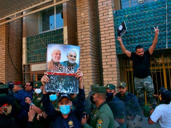 بارزاني عن شغب أنصار الحشد في بغداد: خارجون عن القانون