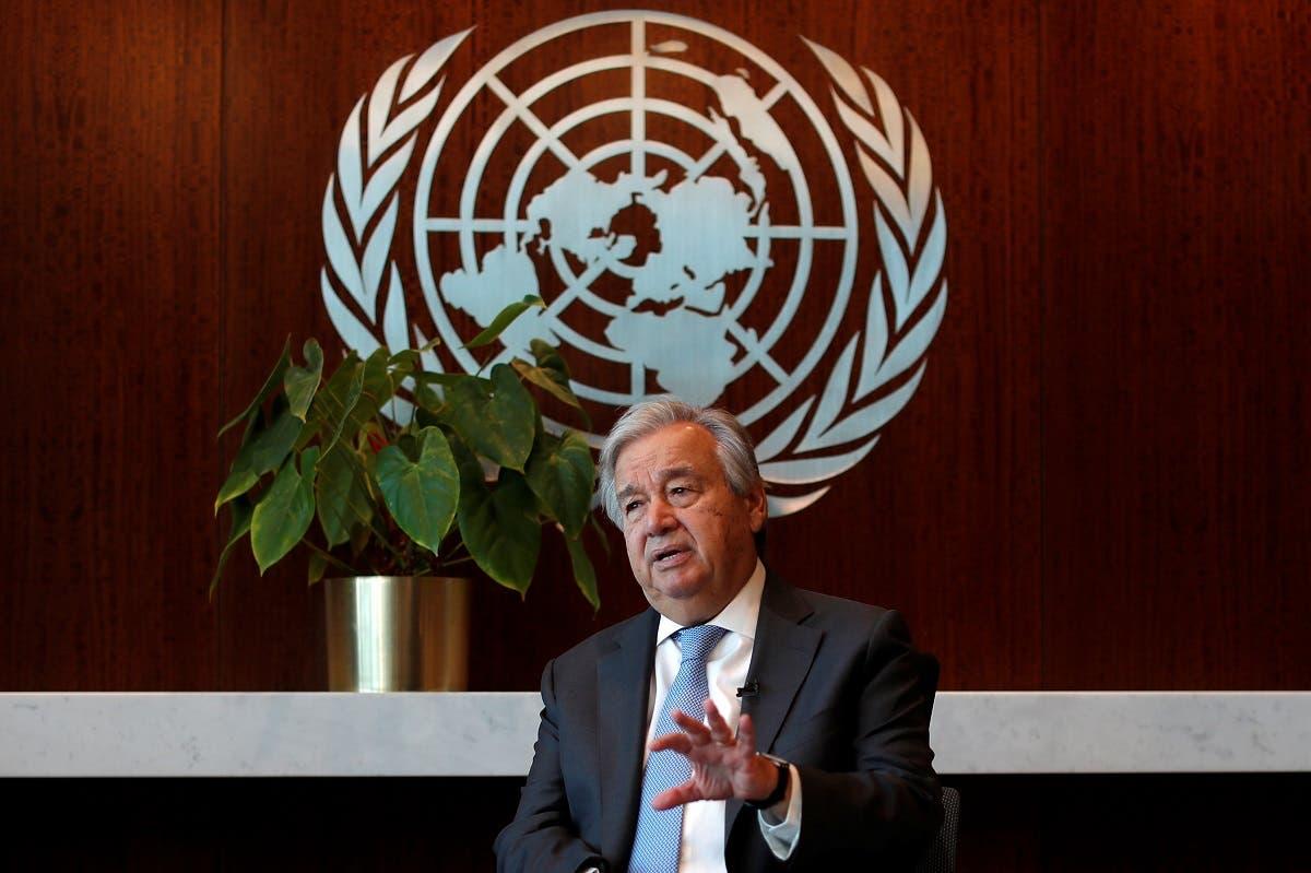 United Nations Secretary-General Antonio Guterres. (Reuters)
