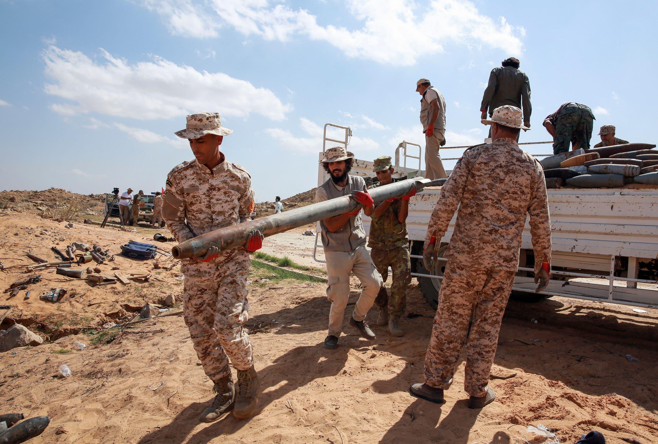 اعضای نیروی سازش در طرابلس (بایگانی - مطبوعات فرانسه)
