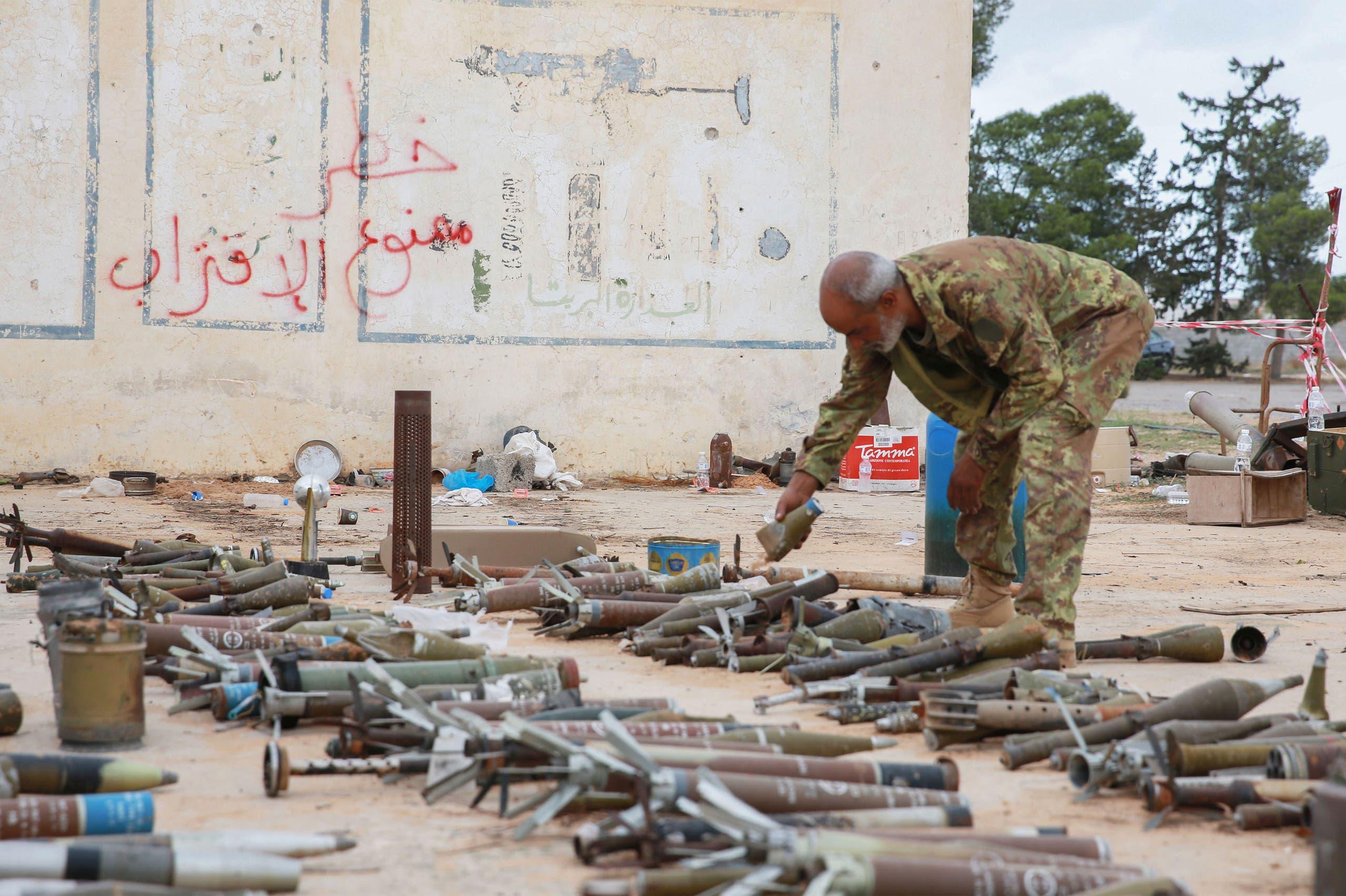 عنصر من قوات الوفاق  في طرابلس (أرشيفية- فرانس برس)