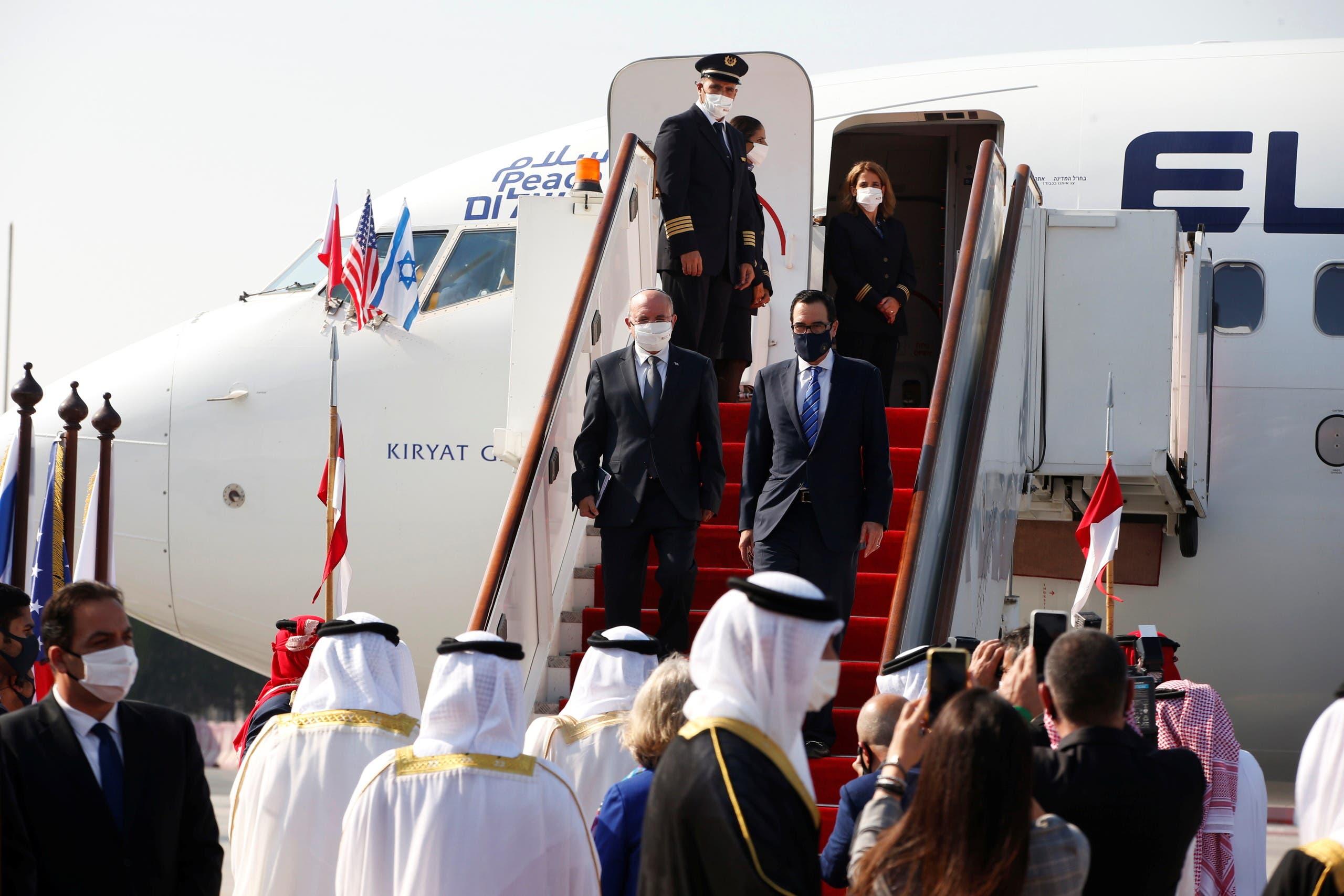 وصول وفد إسرائيلي الى البحرين في أول رحلة مباشرة بين تل أبيب والمنامة