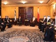 توافق بحريني وإسرائيلي وأميركي بشأن التحديات بالمنطقة
