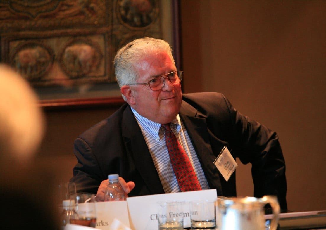 "Former U.S. Ambassador Charles W. ""Chas"" Freeman. (Chasfreeman.net)"