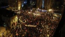 As coronavirus lockdown eases, Israelis again gather against Netanyahu