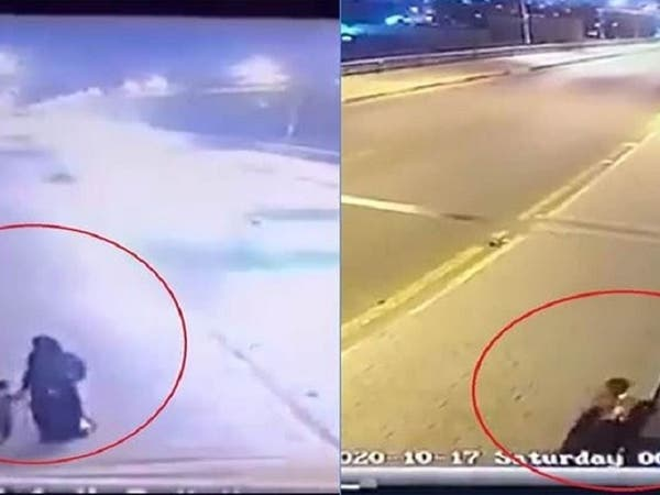 شاهد امرأة تهز العراق بأسره وترمي طفليها في دجلة
