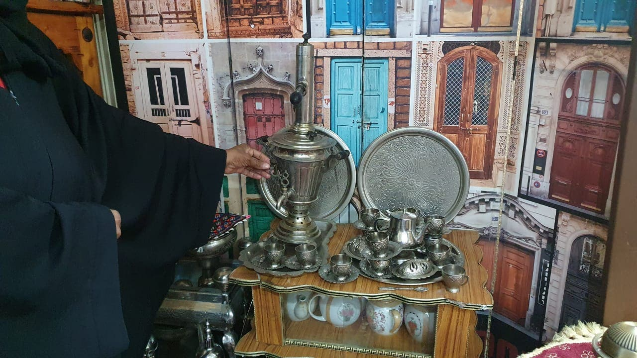 Saudi woman collects rear Peaces to trun her house into museum