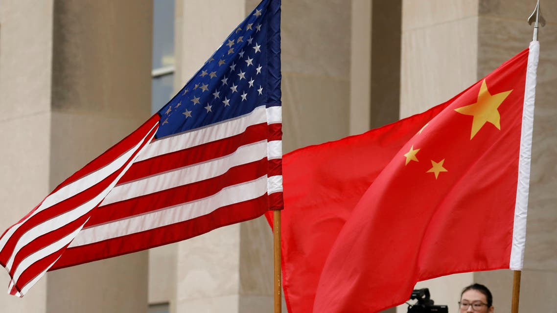 U.S. and Chinese flags are seen in Arlington, Virginia, US, November 9, 2018. (File photo: Reuters)