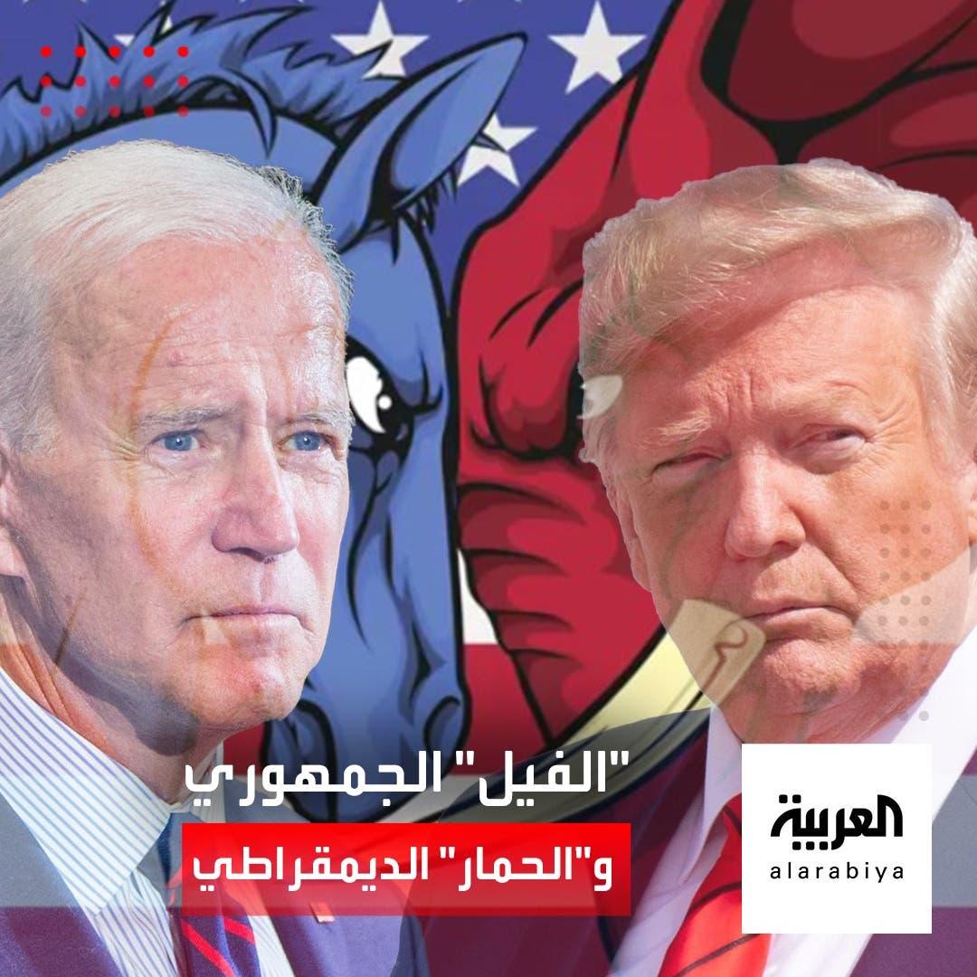 """""""الحمار"""" للديمقراطيين و""""الفيل"""" للجمهوريين.. ما هي قصة الشعارين؟"""