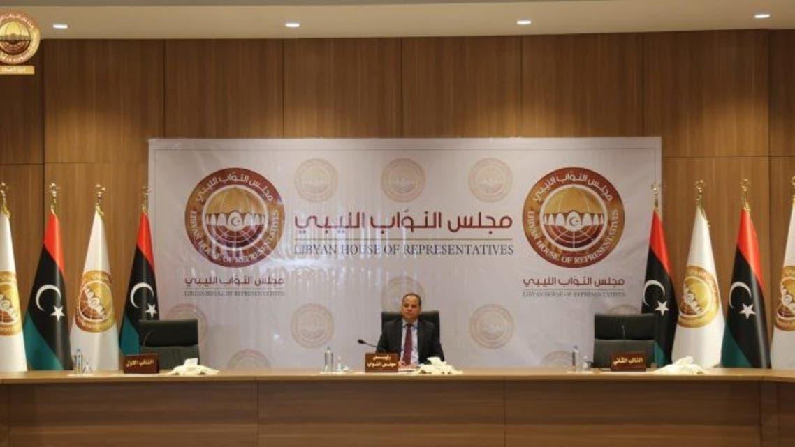 من جلسة البرلمان الليبي اليوم 19 اكتوبر 2020