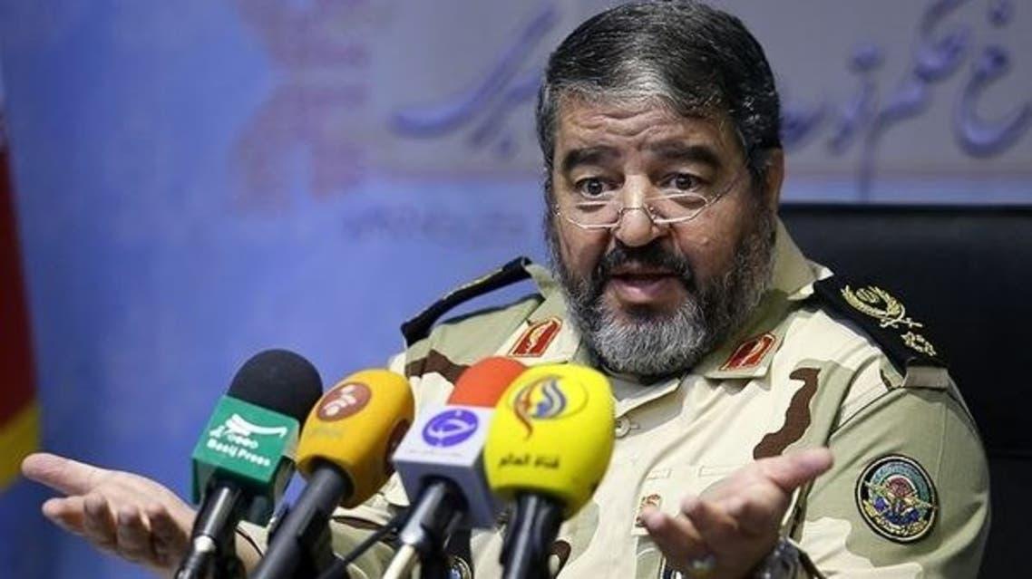 رئيس منظمة الدفاع المدني الايراني، غلام رضا جلالي