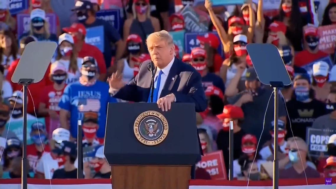 THUMBNAIL_ President Trump campaigns in Carson City - Mohammed, one of the most respected warriors