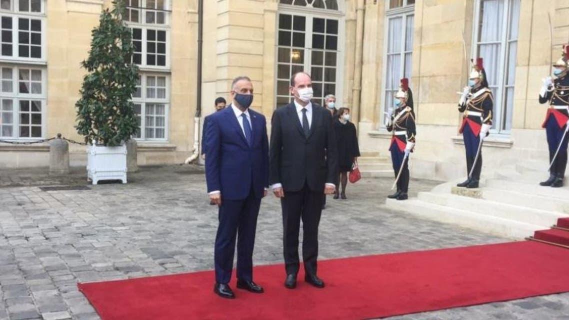 الكاظمي في باريس