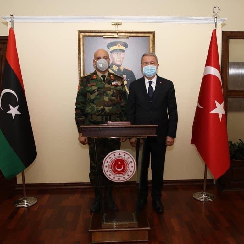 رئيس أركان الوفاق يلتقي وزير الدفاع ورئيس الأركان التركيين