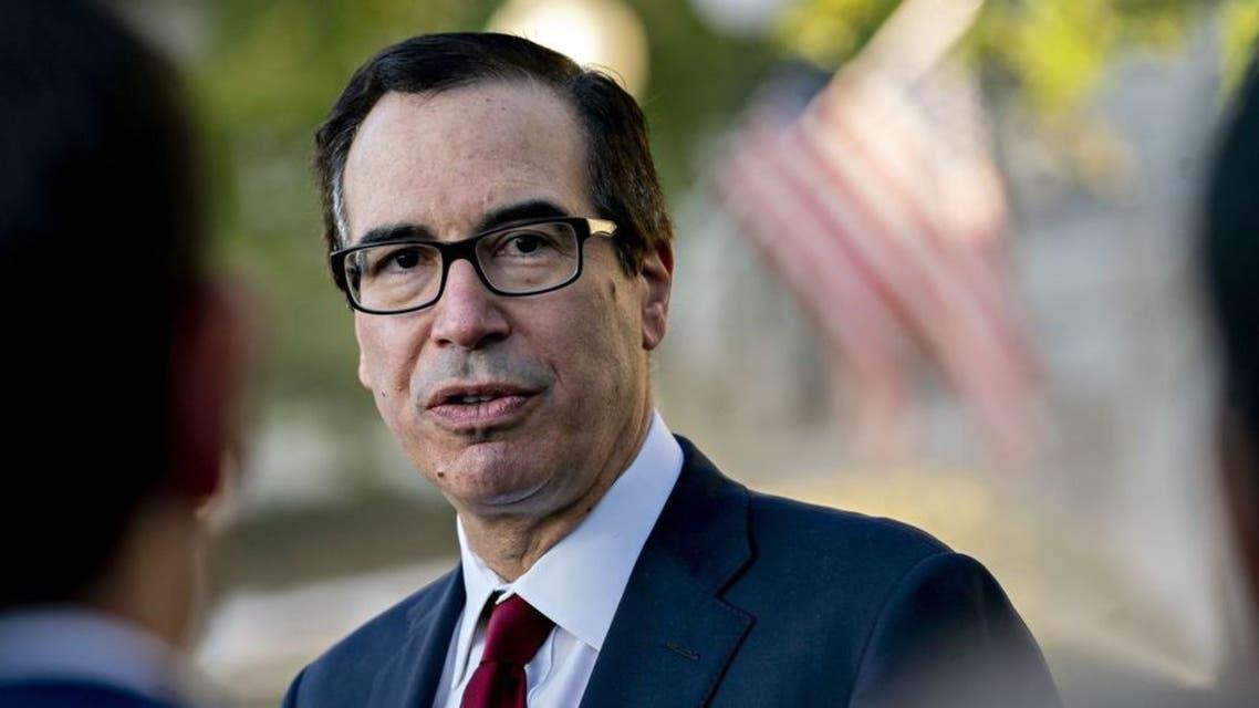 وزير الخزانة الأميركي ستيفن منوشين