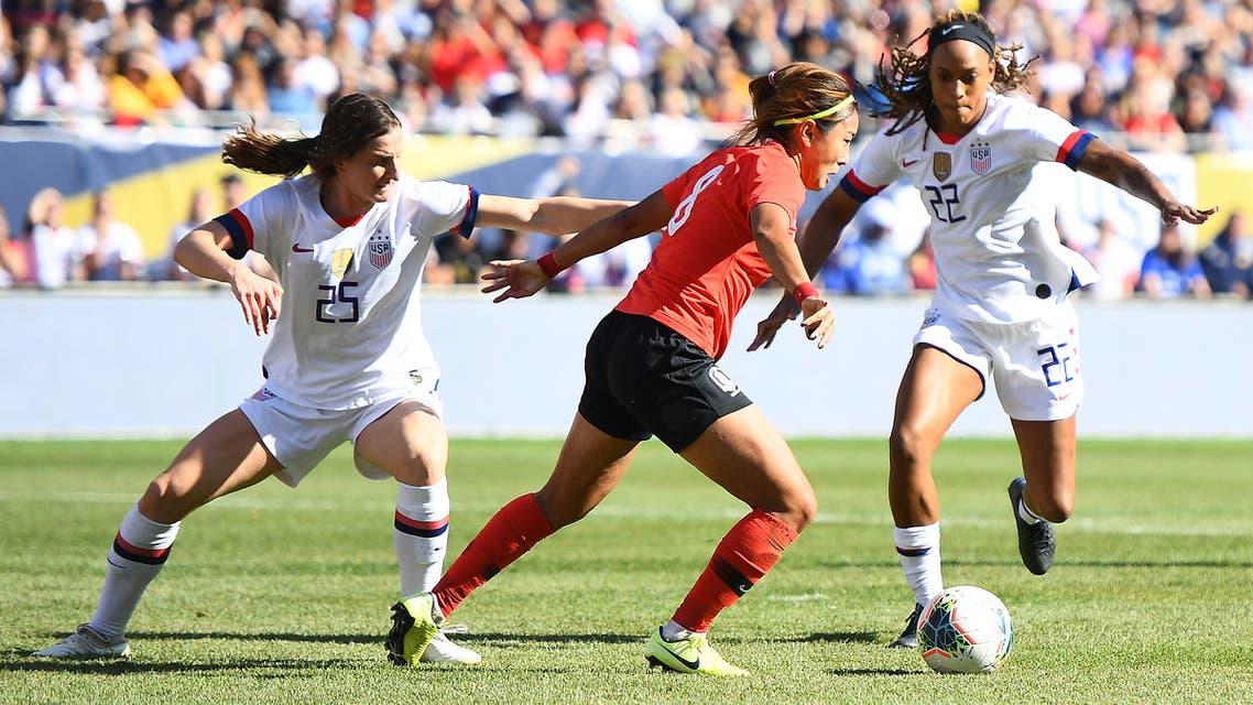 Women's soccer/football AFP