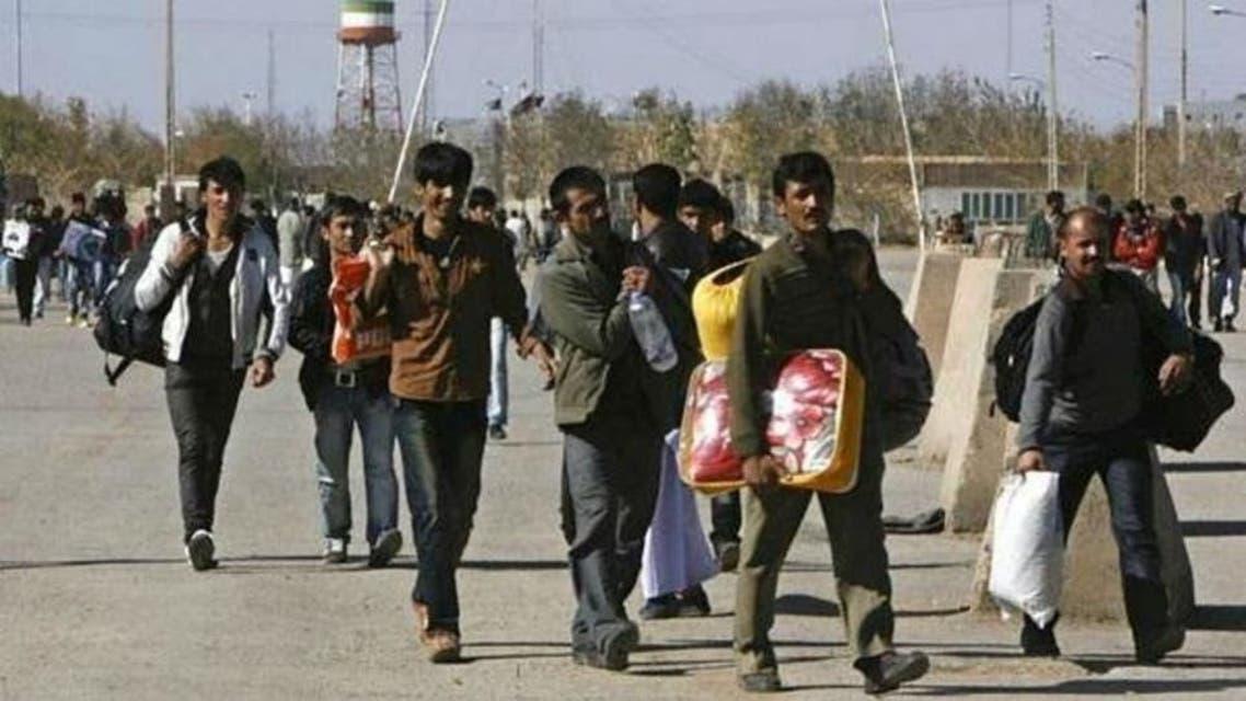 مهاجران افغان به ایران