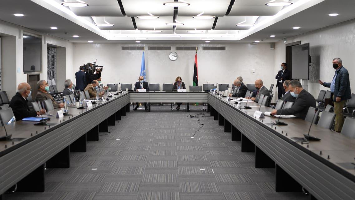 من محادثات جنيف الليبية يوم 20 أكتوبر