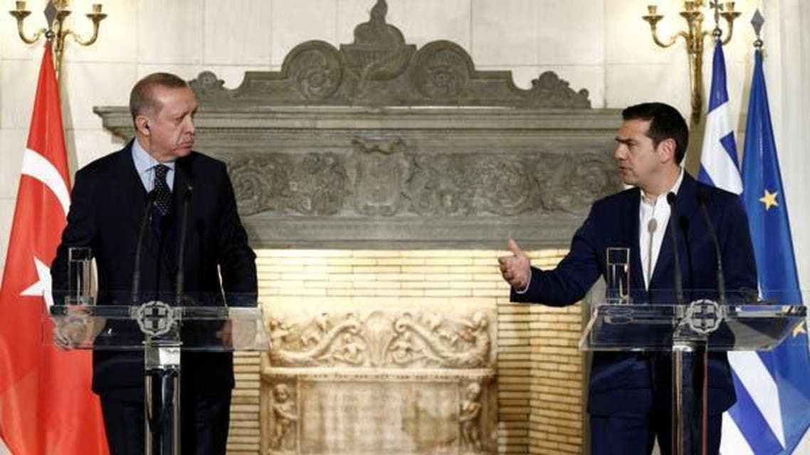 Turk President With Greece PM