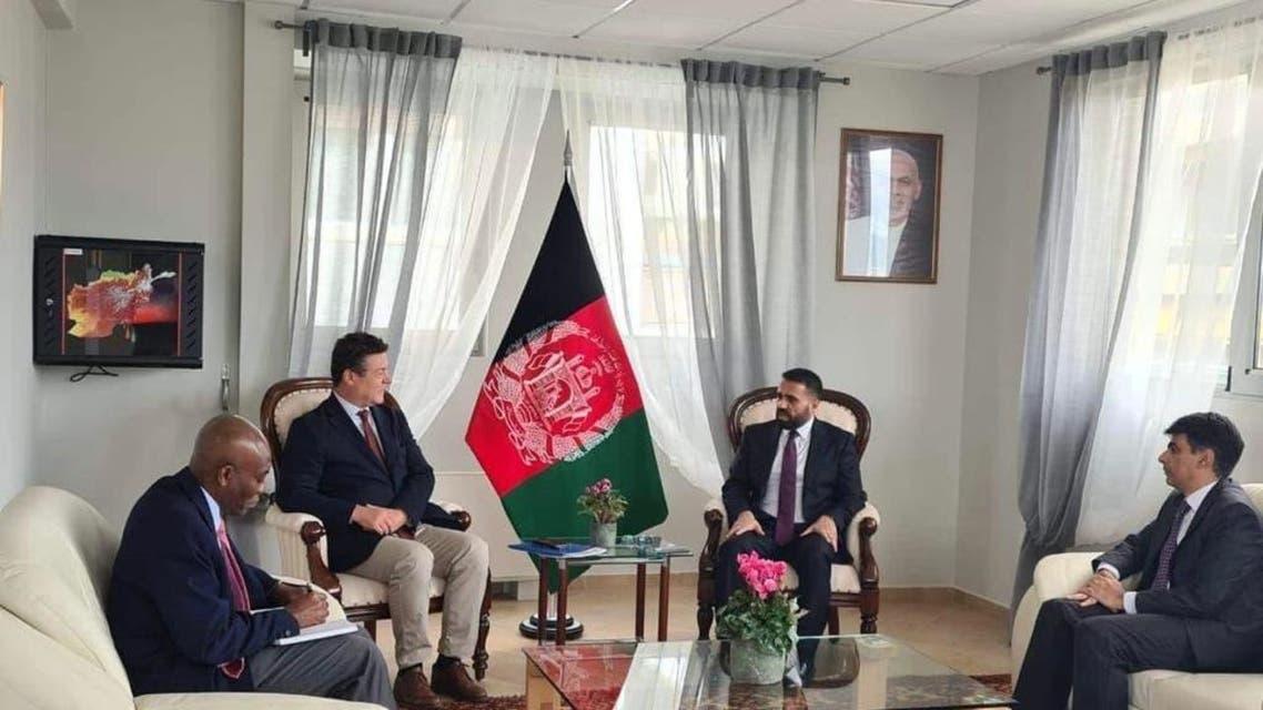 حل مشکلات مهاجرین افغان محور گفتوگوی مقامهای افغانستان و یونان
