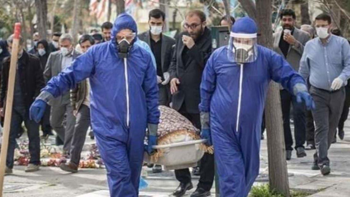 عکس آرشیوی از قربانیان کرونا در ایران