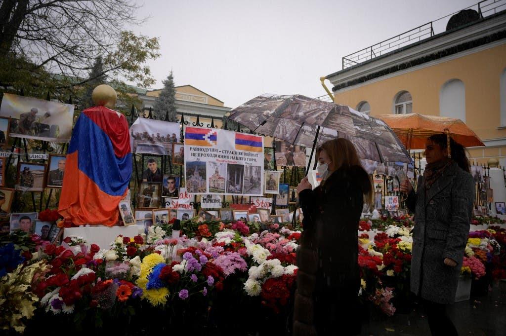 عائلات ضحايا أرمينيا - فرانس برس