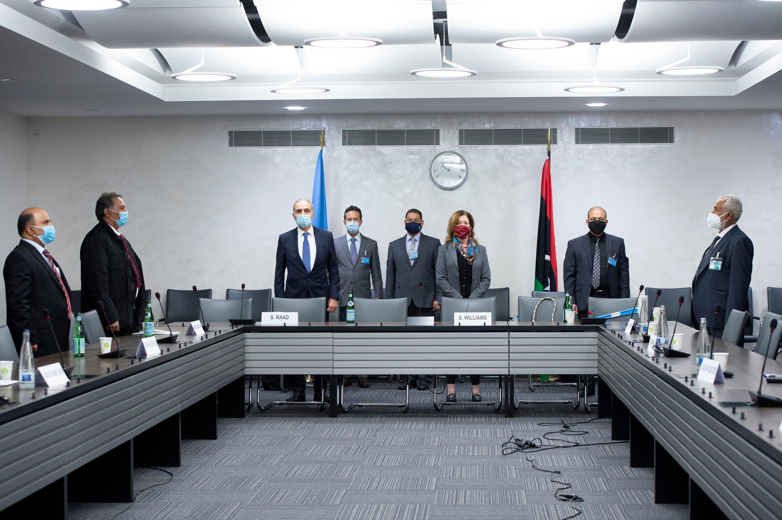 من محادثات جنيف الليبية يوم 19 أكتوبر