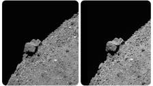 US spacecraft dodges boulders, touches asteroid for seconds before return to Earth