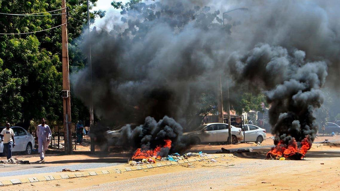 من احتجاجات السودان يوم 21 أكتوبر