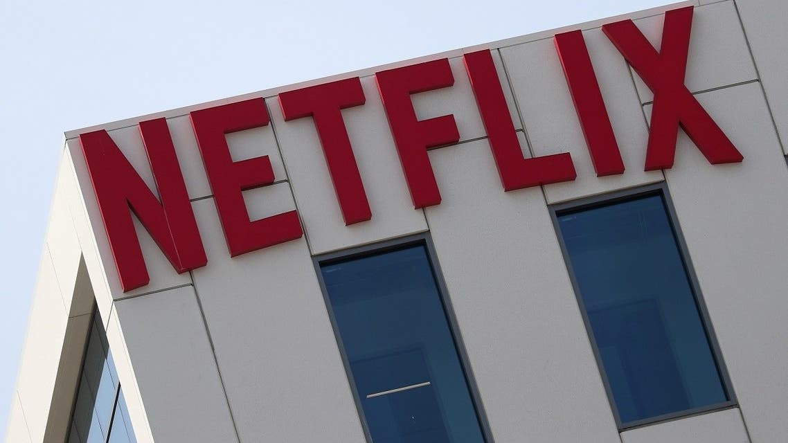 The Netflix logo is seen on their office in Hollywood, Los Angeles, California, US. (Reuters)