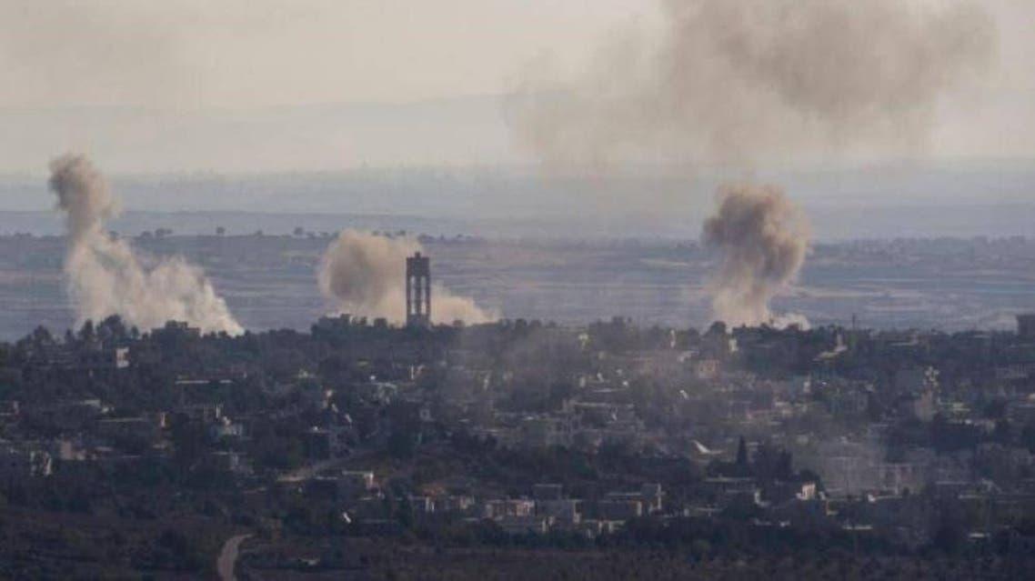 قصف-اسرائيلي-علي-القنيطرة2