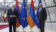 Nagorno-Karabakh conflict: Armenia's President slams Turkey in visit to NATO
