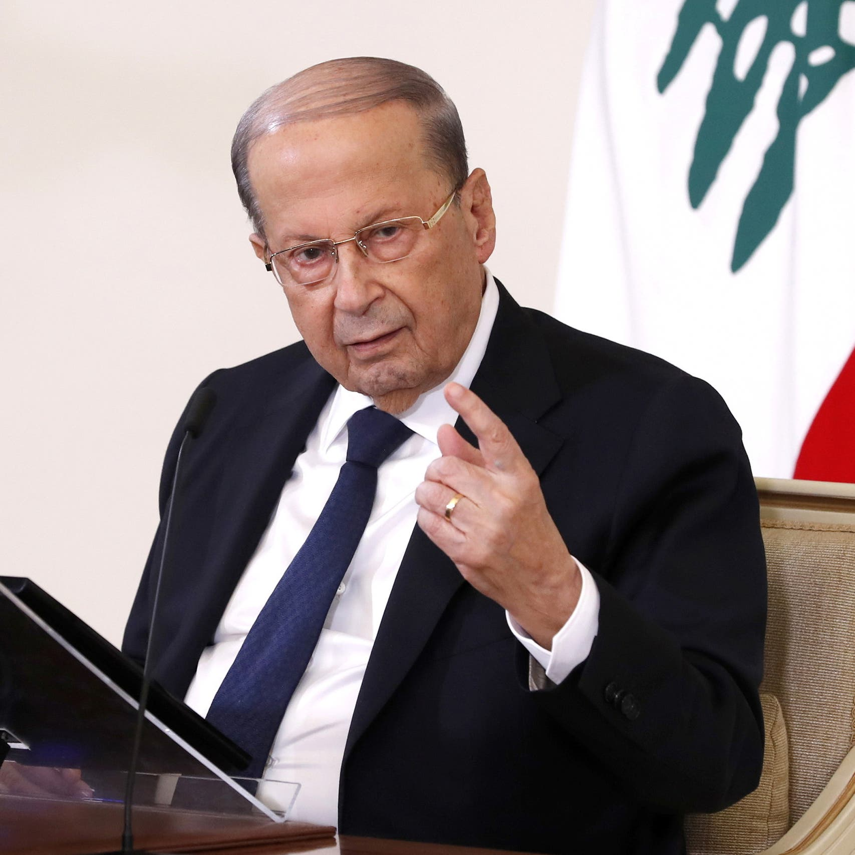 Lebanon's Aoun summons central bank governor after fuel subsidies lifted