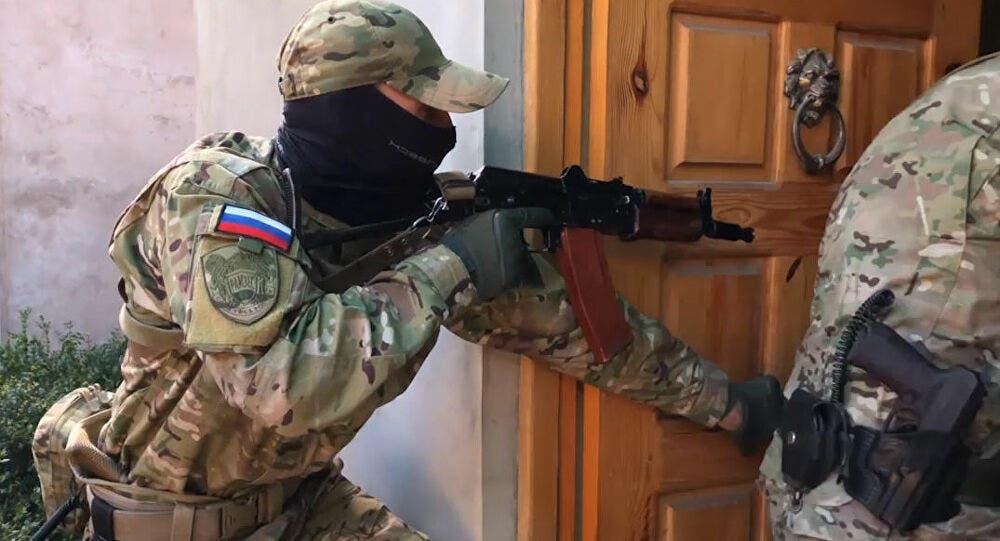 عناصر من الأمن  الروسي