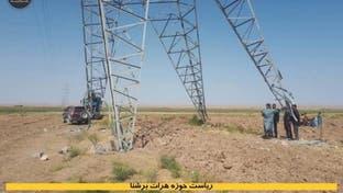 یک پایه برق وارداتی از ایران در هرات افغانستان منهدم شد