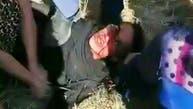 زن جوان ایرانی در حالی که زخمی بود از نیروهای امنیتی کتک خورد و «دستمالی» شد