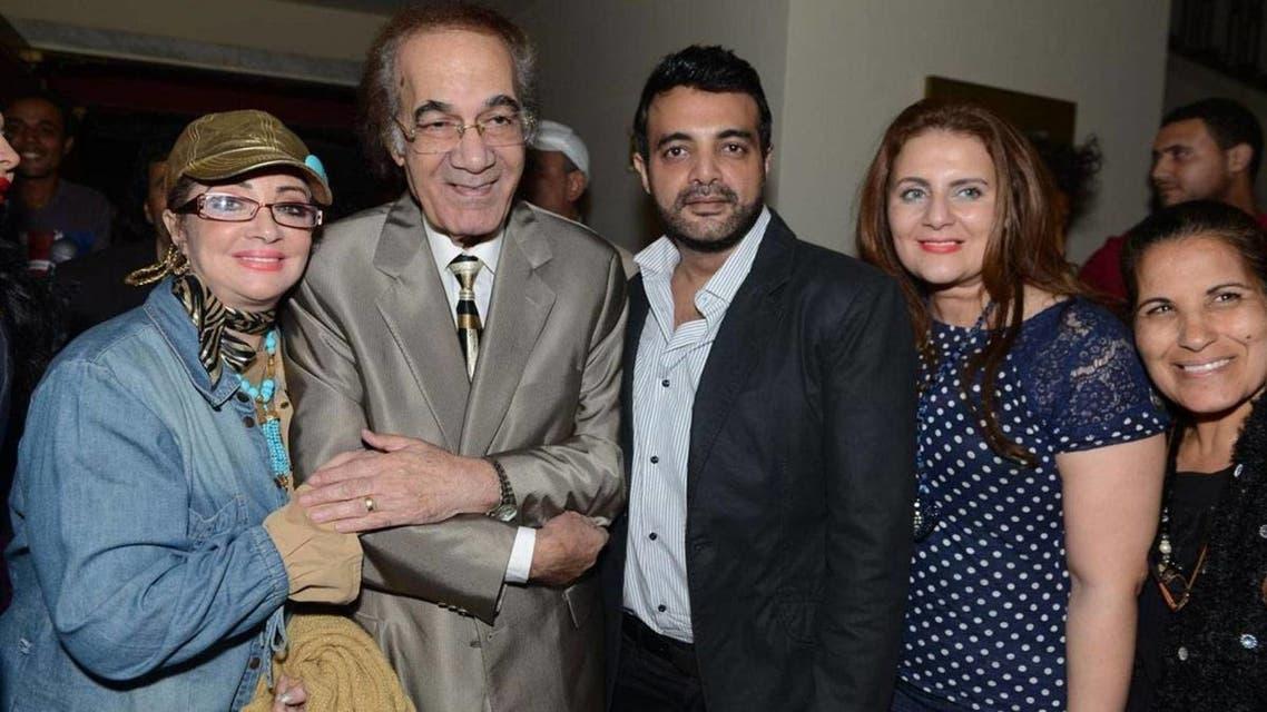 محمود ياسين وعائلته