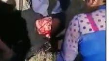 شاهد.. فتاة إيرانية اشتكت اغتصاب مسؤول لها فأوسعت ضربا