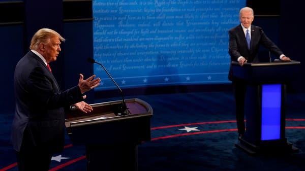 اتهامات متبادلة بين ترمب وبايدن في مناظرتهما الأخيرة