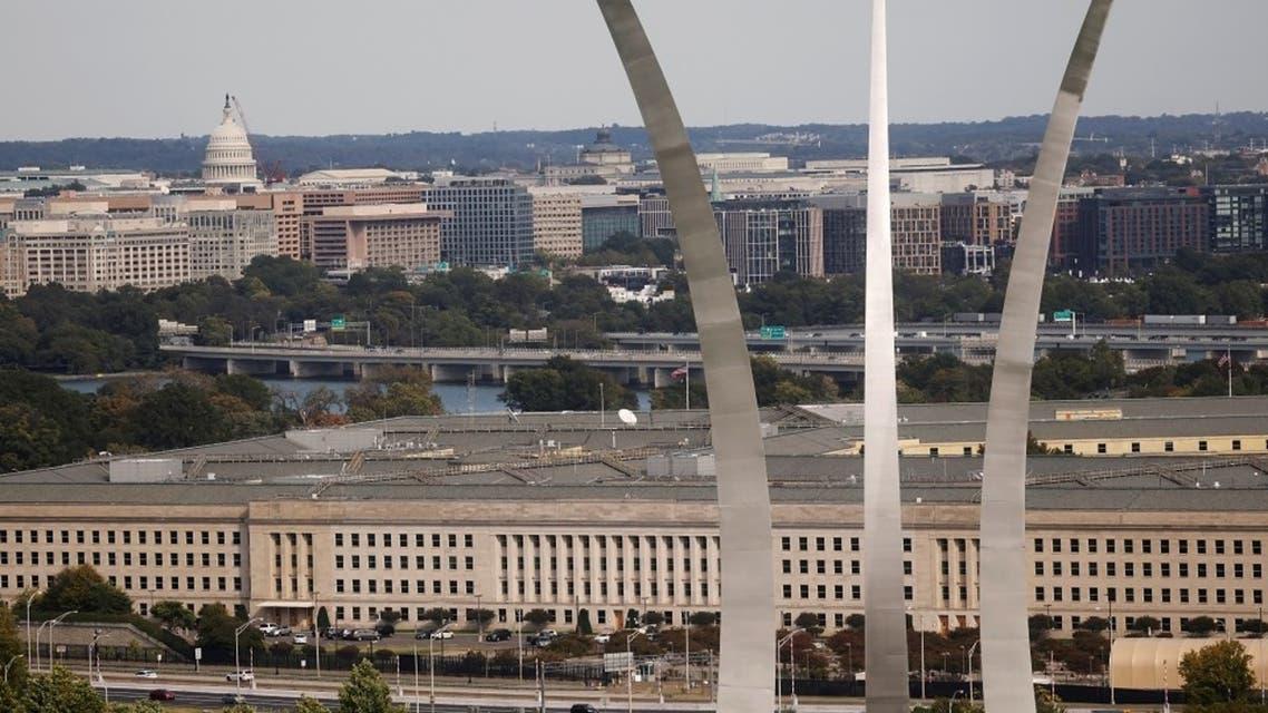 The Pentagon building is seen in Arlington, Virginia, Oct. 9, 2020. (Reuters)