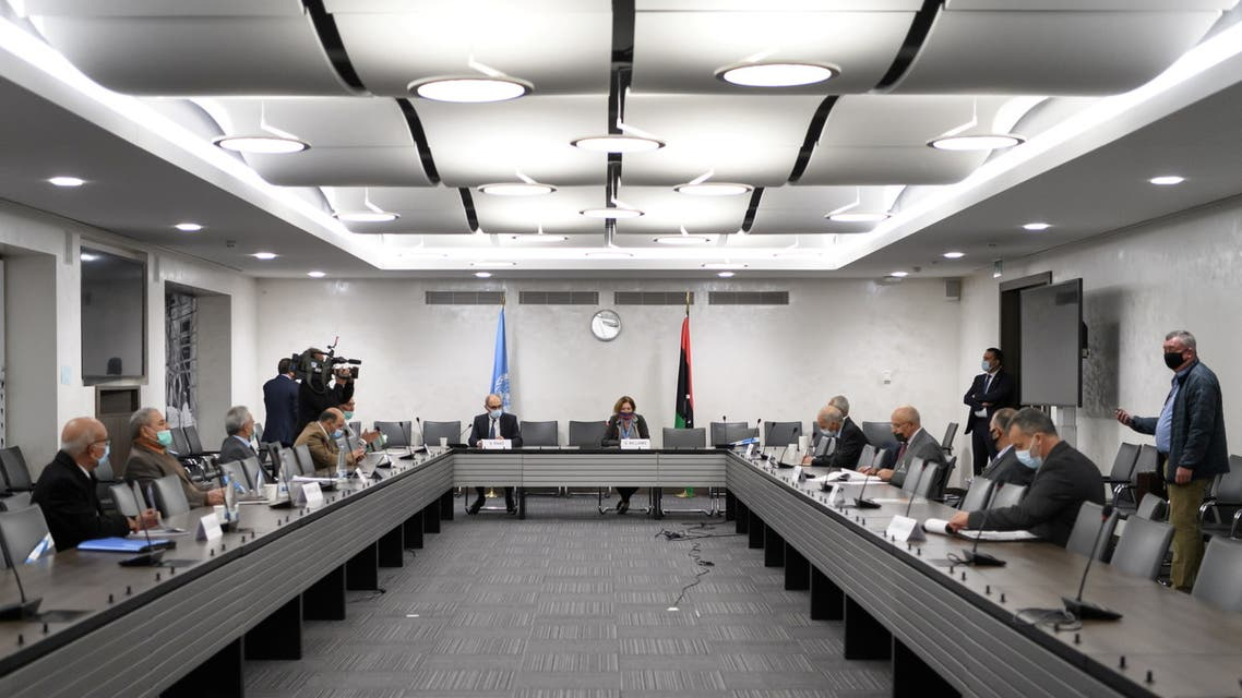 UN hosts talks of Libya joint military commission in Geneva. (Reuters)