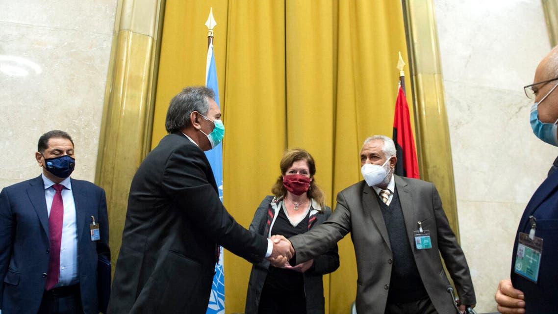 مراسم توقيع الاتفاق الليبي