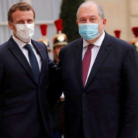 رئيس أرمينيا لماكرون: مرتزقة تركيا خطر محدق بأوروبا