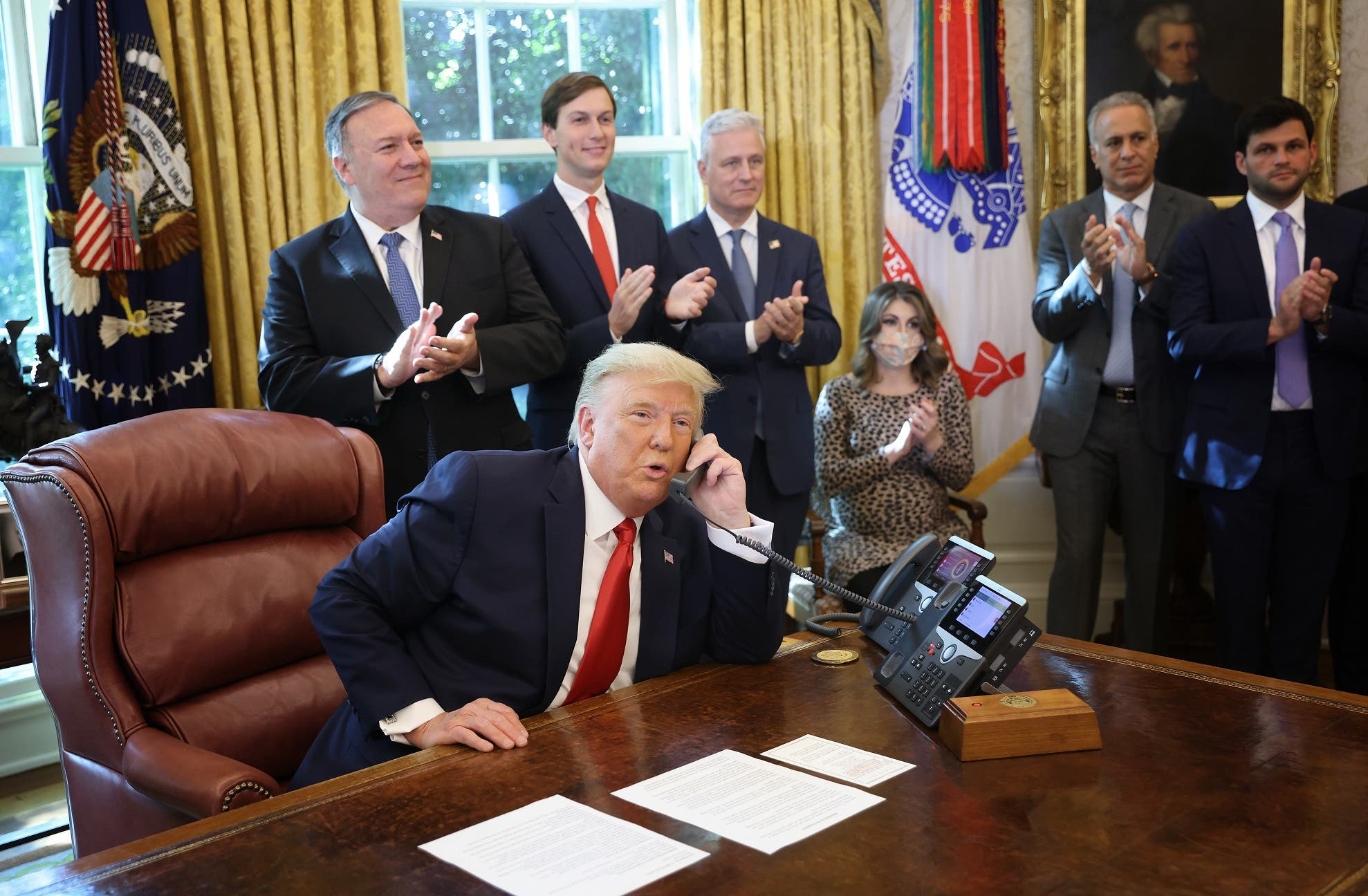 من اتصال ترمب اليوم في البيت الأبيض بنتنياهو وحمدوك